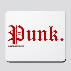 Punk Music Mousepad