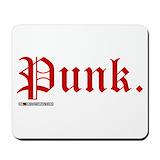 Punk rock Mouse Pads