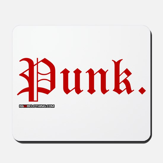 Punk Music Mousepad