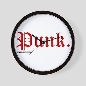 Punk Music Wall Clock