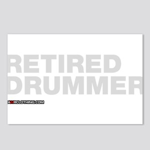 Retired Drummer Postcards (Package of 8)