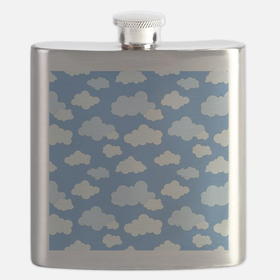 Swirling Clouds Flask