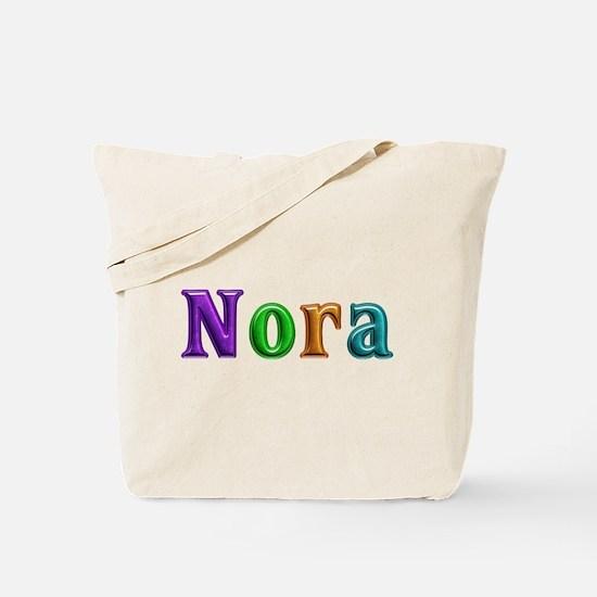 Nora Shiny Colors Tote Bag