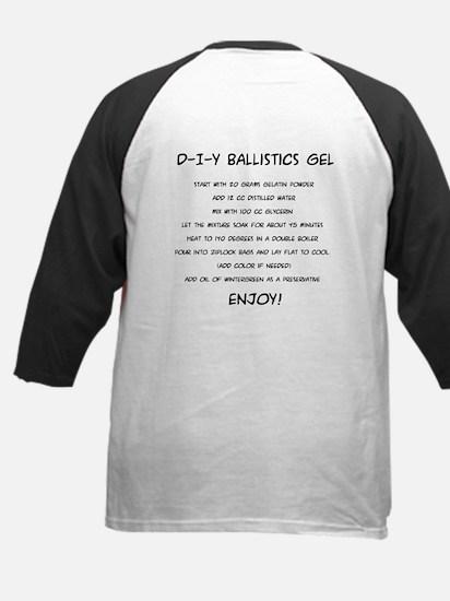 Patron Saint of Ballistics Gel Kid Baseball Jersey