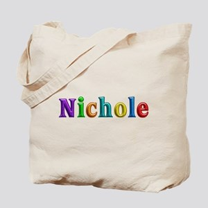 Nichole Shiny Colors Tote Bag