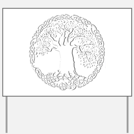 Celtic Tree of Life Yard Sign