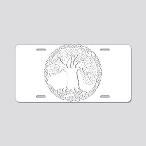 Celtic Tree of Life Aluminum License Plate