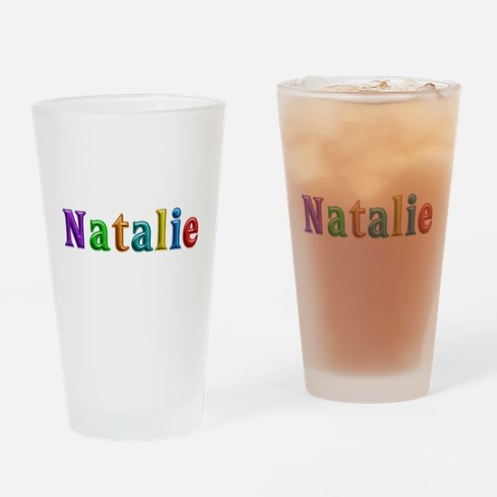 Natalie Shiny Colors Drinking Glass