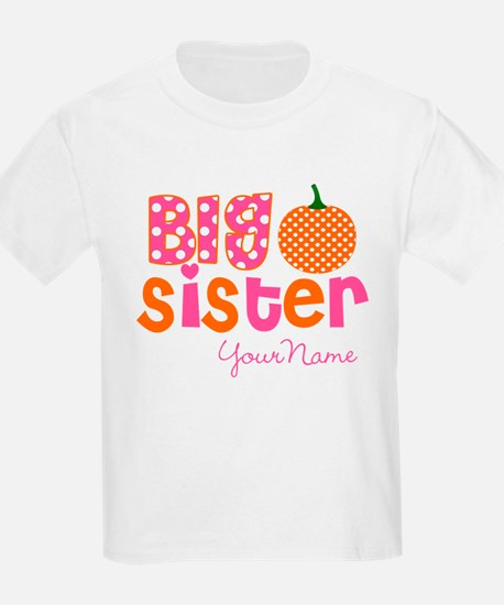 Big Sister Pumpkin T-Shirt
