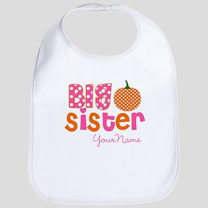 Big Sister Pumpkin Bib