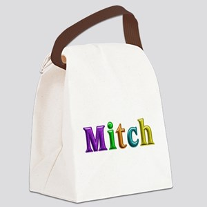 Mitch Shiny Colors Canvas Lunch Bag