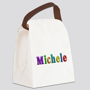 Michele Shiny Colors Canvas Lunch Bag