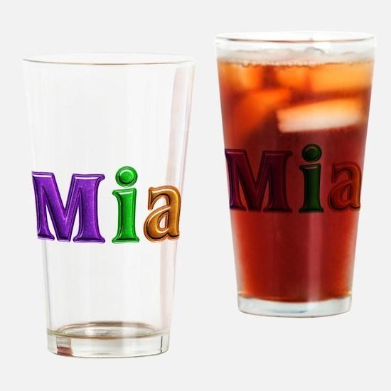 Mia Shiny Colors Drinking Glass