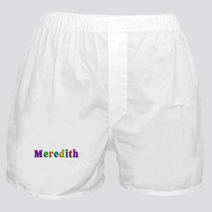 Meredith Shiny Colors Boxer Shorts