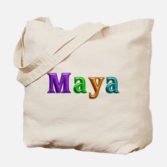 Maya Shiny Colors Tote Bag