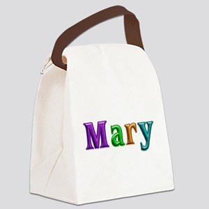 Mary Shiny Colors Canvas Lunch Bag