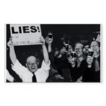 Lies We Lose--Yeah! Rectangle Sticker