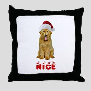 Nice Goldendoodle Throw Pillow