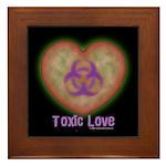 Toxic Love Framed Tile