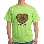 Toxic Love Green T-Shirt