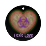 Toxic Love Ornament (Round)