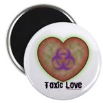 """Toxic Love 2.25"""" Magnet (10 pack)"""