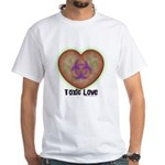 Toxic Love White T-Shirt
