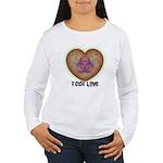 Toxic Love Women's Long Sleeve T-Shirt