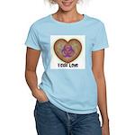 Toxic Love Women's Pink T-Shirt