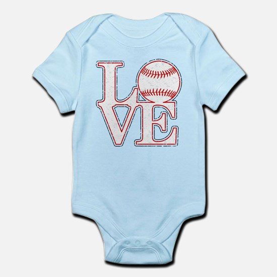 Love Baseball Classic Body Suit