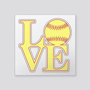 Love Softball Original Sticker