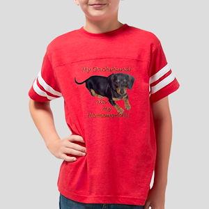 ATE MY HOMEWORK Youth Football Shirt