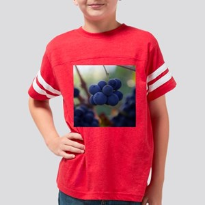 LittleGrapes_sq Youth Football Shirt
