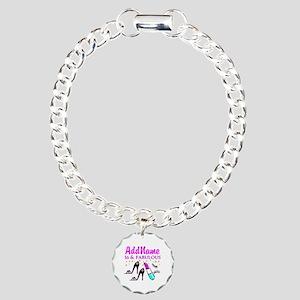 SNAZZY 16TH Charm Bracelet, One Charm