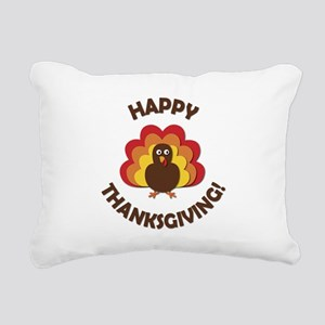Happy Thanksgiving! Rectangular Canvas Pillow