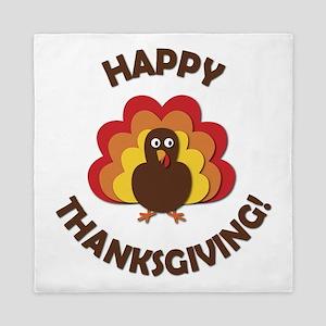 Happy Thanksgiving! Queen Duvet