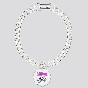 GORGEOUS 16TH Charm Bracelet, One Charm