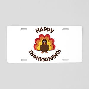 Happy Thanksgiving! Aluminum License Plate