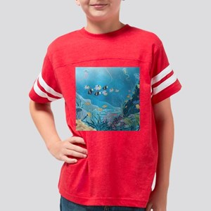 Tropical Reef Youth Football Shirt