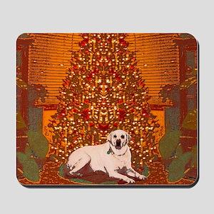 Christmas Labrador Mousepad