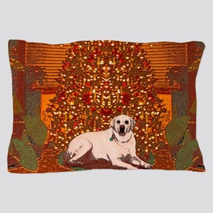 Christmas Labrador Pillow Case