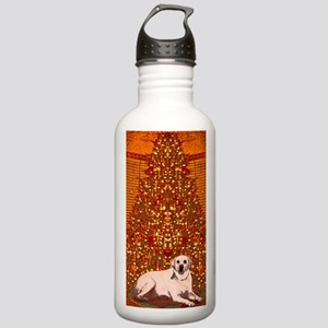 Christmas Labrador Stainless Water Bottle 1.0L