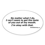 Taste In My Mouth Sticker