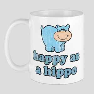 Happy As A Hippo Mug