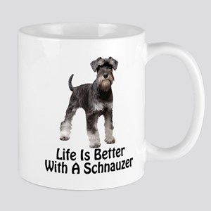 Better With A Schnuazer Mugs