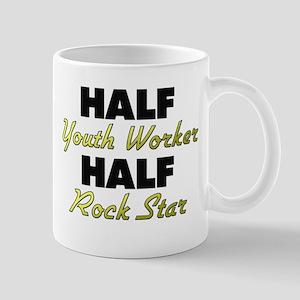 Half Youth Worker Half Rock Star Mugs