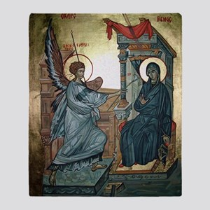 Annunciation Throw Blanket