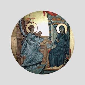 "Annunciation 3.5"" Button"