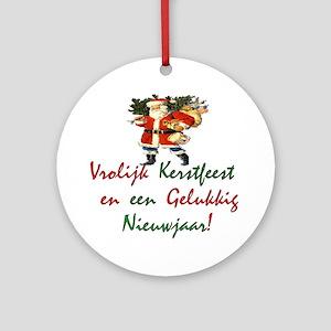 "Holiday International ""Dutch"" Ornament (Round)"