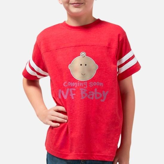coming soon IVF baby Youth Football Shirt